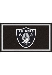 Las Vegas Raiders 3x5 Plush Interior Rug