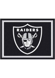 Las Vegas Raiders 8x10 Plush Interior Rug