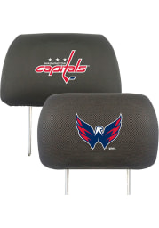 Sports Licensing Solutions Washington Capitals 10x13 Auto Head Rest Cover - Black