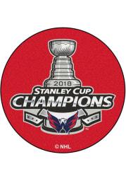 Washington Capitals 27 Hockey Puck Interior Rug