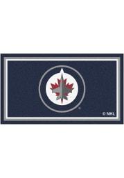 Winnipeg Jets 3x5 Plush Interior Rug