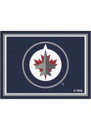 Winnipeg Jets 8x10 Plush Interior Rug