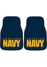 Sports Licensing Solutions Navy 2-Piece Carpet Car Mat - Blue