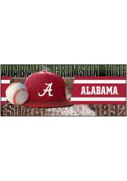 Alabama Crimson Tide 30x72 Baseball Runner Interior Rug