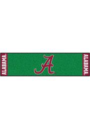 Alabama Crimson Tide 18x72 Putting Green Runner Interior Rug