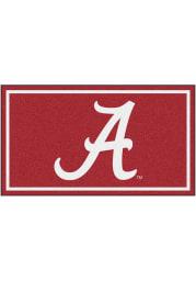Alabama Crimson Tide 3x5 Plush Interior Rug