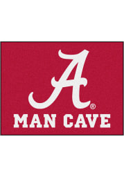 Alabama Crimson Tide 34x42 Man Cave All Star Interior Rug