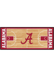 Alabama Crimson Tide 30x72 Court Runner Interior Rug