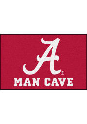 Alabama Crimson Tide 19x30 Man Cave Starter Interior Rug