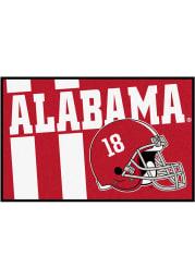Alabama Crimson Tide 19x30 Uniform Starter Interior Rug