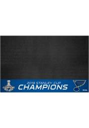 St Louis Blues 2019 Stanley Cup Champions 26x42 BBQ Grill Mat