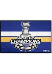 St Louis Blues 2019 Stanley Cup Champions 19x30 Starter Interior Rug