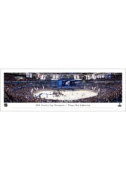 Tampa Bay Lightning 2021 Stanley Cup Champions Unframed Poster