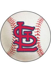 St Louis Cardinals Baseball Interior Rug