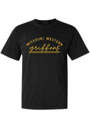 Missouri Western Griffons Womens Black New Basic Short Sleeve T-Shirt