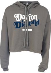 Dayton Womnen's Storm Diamond Cropped Long Sleeve Lightweight Hood