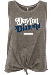 Dayton Women's Grey Heather Diamond Tank Top
