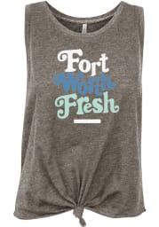 Fort Worth Women's Grey Heather Fresh Tank Top