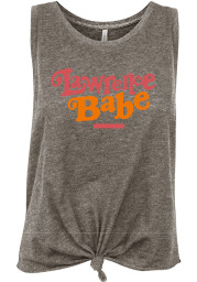 Lawrence Women's Grey Heather Babe Tank Top