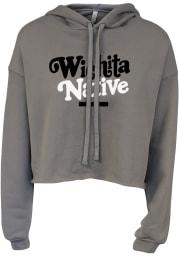 Wichita Women's Storm Native Cropped Long Sleeve Lightweight Hood