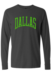 Dallas Ft Worth Charcoal Arch Long Sleeve T Shirt