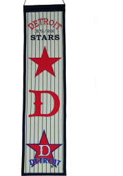 Detroit Stars 8x32 Heritage Banner