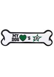Dallas Stars Bone Pet Magnet
