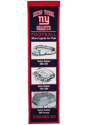 New York Giants Stadium Evolution Banner