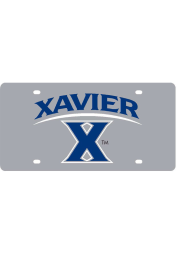 Xavier Musketeers Logo Car Accessory License Plate