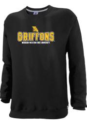 Missouri Western Griffons Youth Black Classic Long Sleeve Crew Sweatshirt