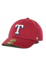 47 Texas Rangers Mens Red 47 Franchise Fitted Hat
