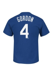 Alex Gordon Kansas City Royals Youth Blue Youth Gordon Player Tee