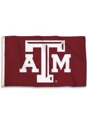 Texas A&M Aggies 3x5 Basic Logo Maroon Silk Screen Grommet Flag