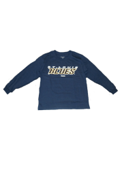 St Louis Blues Youth Navy Blue Youth Rally Loud Long Sleeve T-Shirt
