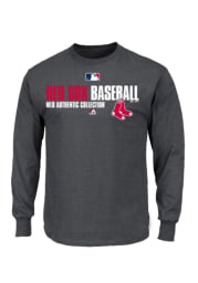 Boston Red Sox Youth Grey All Team Favorite Long Sleeve T-Shirt