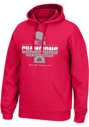 Top of the World Ohio State Buckeyes Mens Red 2019 Big Ten Conference Champions Long Sleeve Hoodie