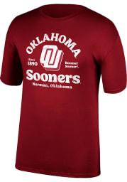 Oklahoma Sooners Crimson Game of the Century Short Sleeve T Shirt