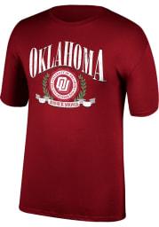 Oklahoma Sooners Crimson Boomer Sooner Game Of The Century Short Sleeve T Shirt