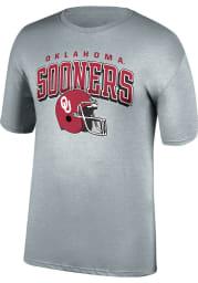 Oklahoma Sooners Grey Football Game Of The Century Short Sleeve T Shirt