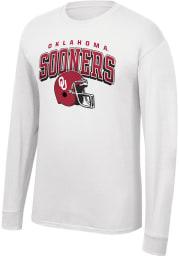 Oklahoma Sooners White Football Game Of The Century Long Sleeve T Shirt