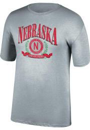 Nebraska Cornhuskers Grey Game of the Century Short Sleeve T Shirt
