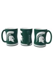 Michigan State Spartans 14oz Sculpted Mug