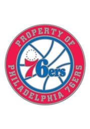 Philadelphia 76ers Souvenir Property Of Pin