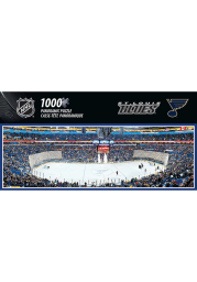 St Louis Blues 1000 Piece Panoramic Puzzle