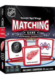 Detroit Red Wings Matching Game
