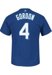 Alex Gordon Kansas City Royals Blue Name and Number Short Sleeve Player T Shirt