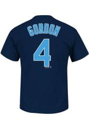 Alex Gordon Kansas City Royals Navy Blue Alex Gordon Short Sleeve Player T Shirt