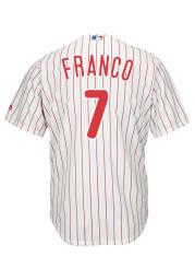 Maikel Franco Philadelphia Phillies Mens Replica 2019 Home Jersey - White