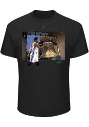 Joel Embiid Philadelphia 76ers Black Landmark Short Sleeve Player T Shirt
