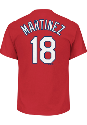 Carlos Martinez St Louis Cardinals Red Name and Number Short Sleeve Player T Shirt